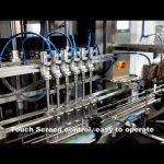 avtomatik 6 baş paylayıcı yuyucu xlor maye doldurma doldurucu maşın xətti