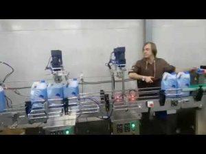 avtomatik anti-korroziya tualet təmizləyici dezinfeksiyaedici maye ağartıcı doldurucu maşın xətti