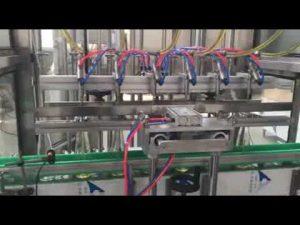 avtomatik bişirmə yağı, bal, cem, şampun maye doldurma kaplama maşını