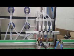 avtomatik 10ml 30ml 60ml 100ml şüşə maye üçün kosmetik doldurma maşını