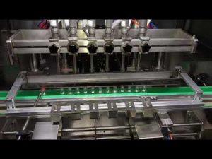 gündəlik kimyəvi sənayesi üçün avtomatik alkoqol sanitizer gel doldurma maşını