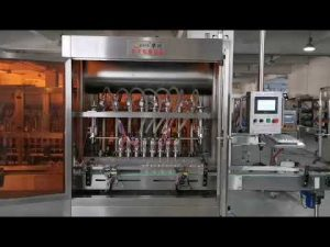 tam avtomatik pomidor sousu servo doldurma maşını