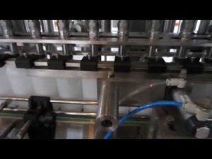 avtomatik maye yuyucu və dezinfeksiyaedici maye doldurma maşını