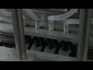 10ml-5l 6 başlıq avtomatik masa üstü dəqiq maye doldurma maşını