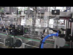 avtomatik əl sanitizer gel maye doldurma maşını